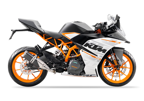 Rent a Motor Cycle KTM 200 Duke In Tirupati @ Rs:100/Hr
